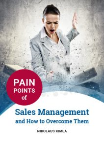 Pain points of sales management