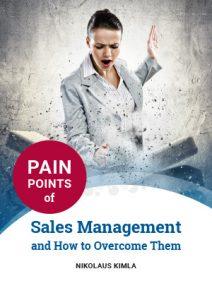 Pain points of sales management