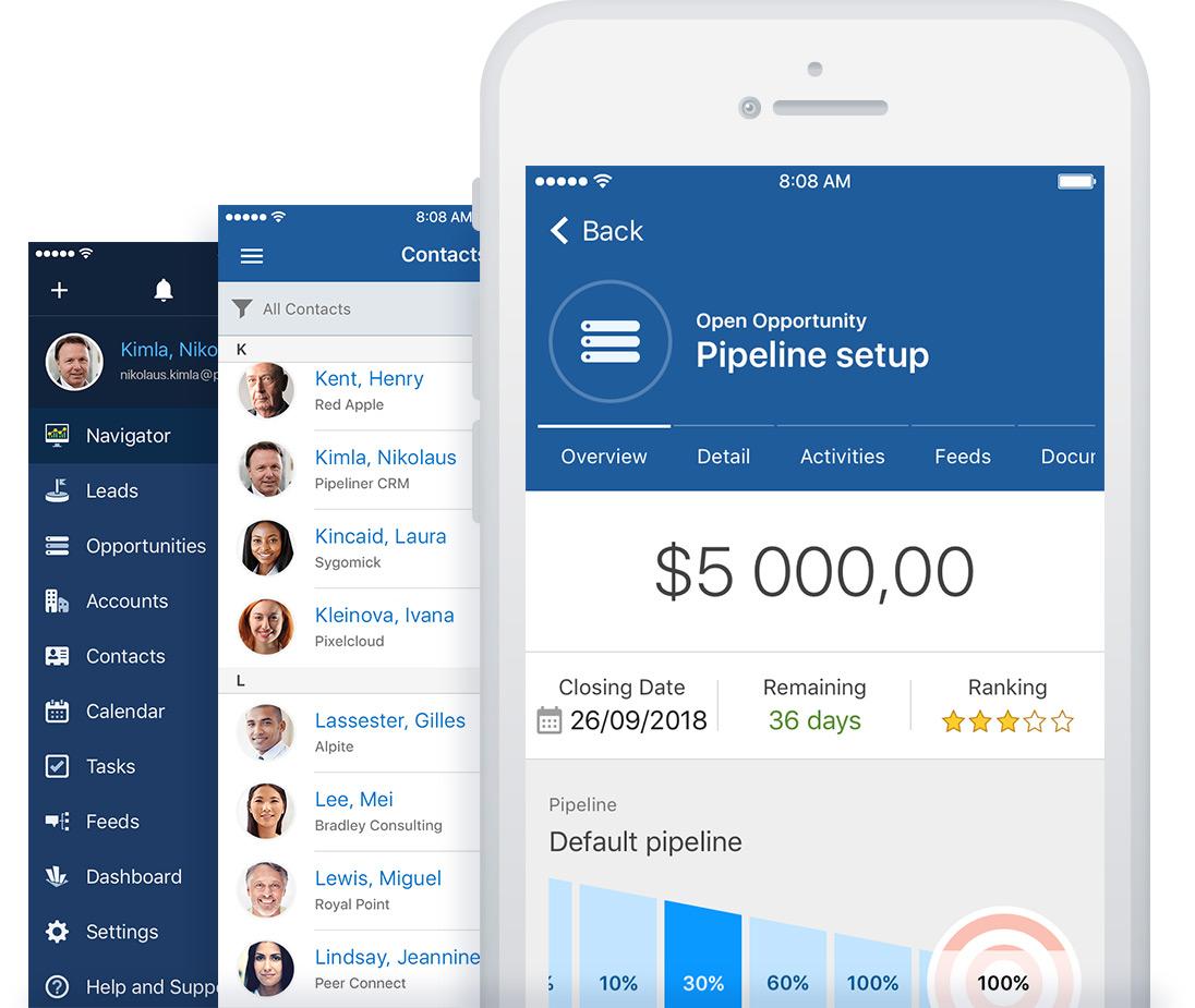Pipeliner CRM: Mobile App