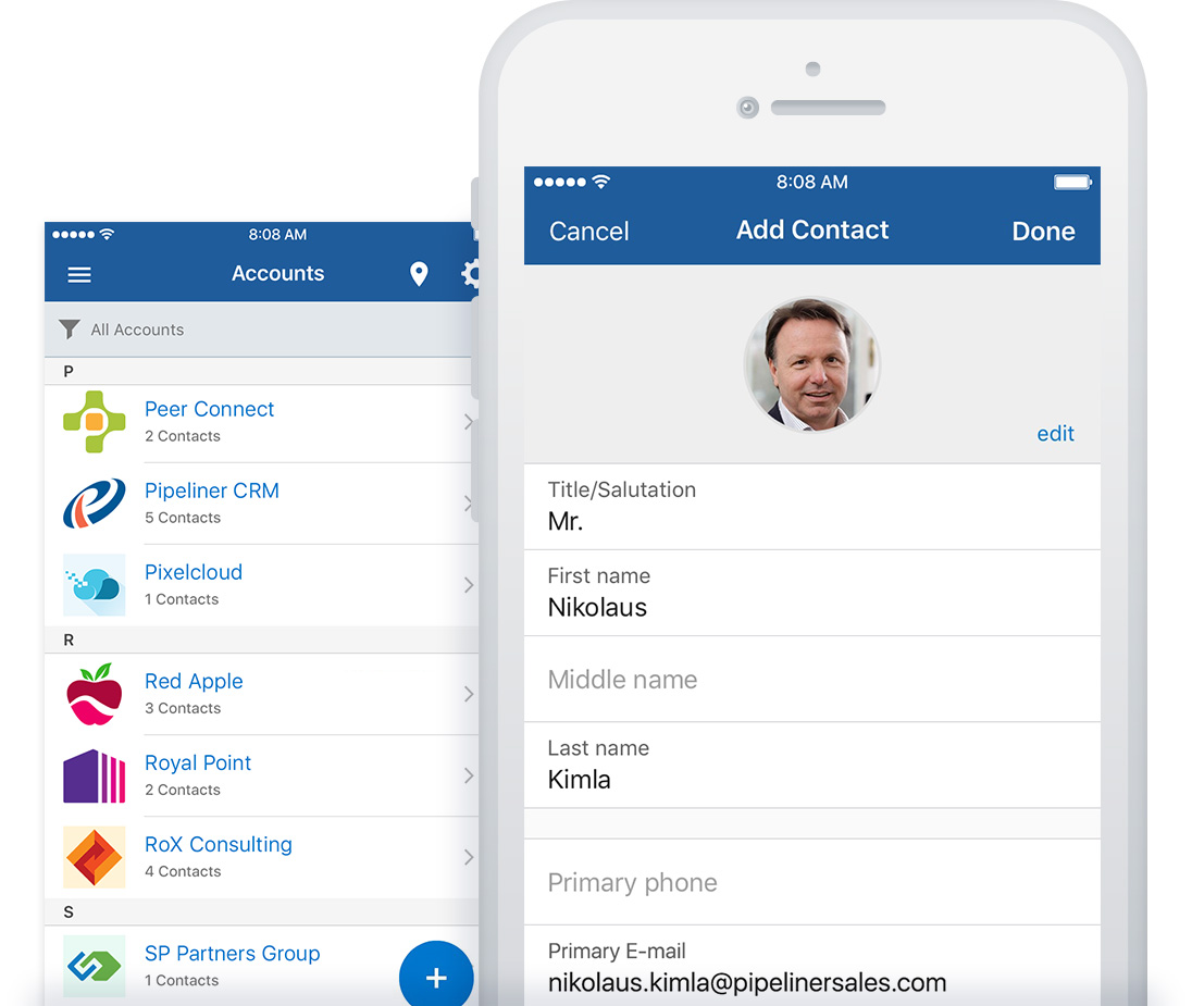 Pipeliner CRM Mobile: Sales Pipeline Management