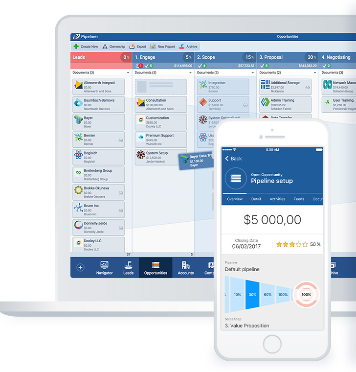 Start your Pipeliner CRM free trial