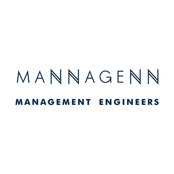 Mannagenn Management engineers logo
