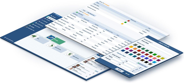 Best Sales CRM admin view