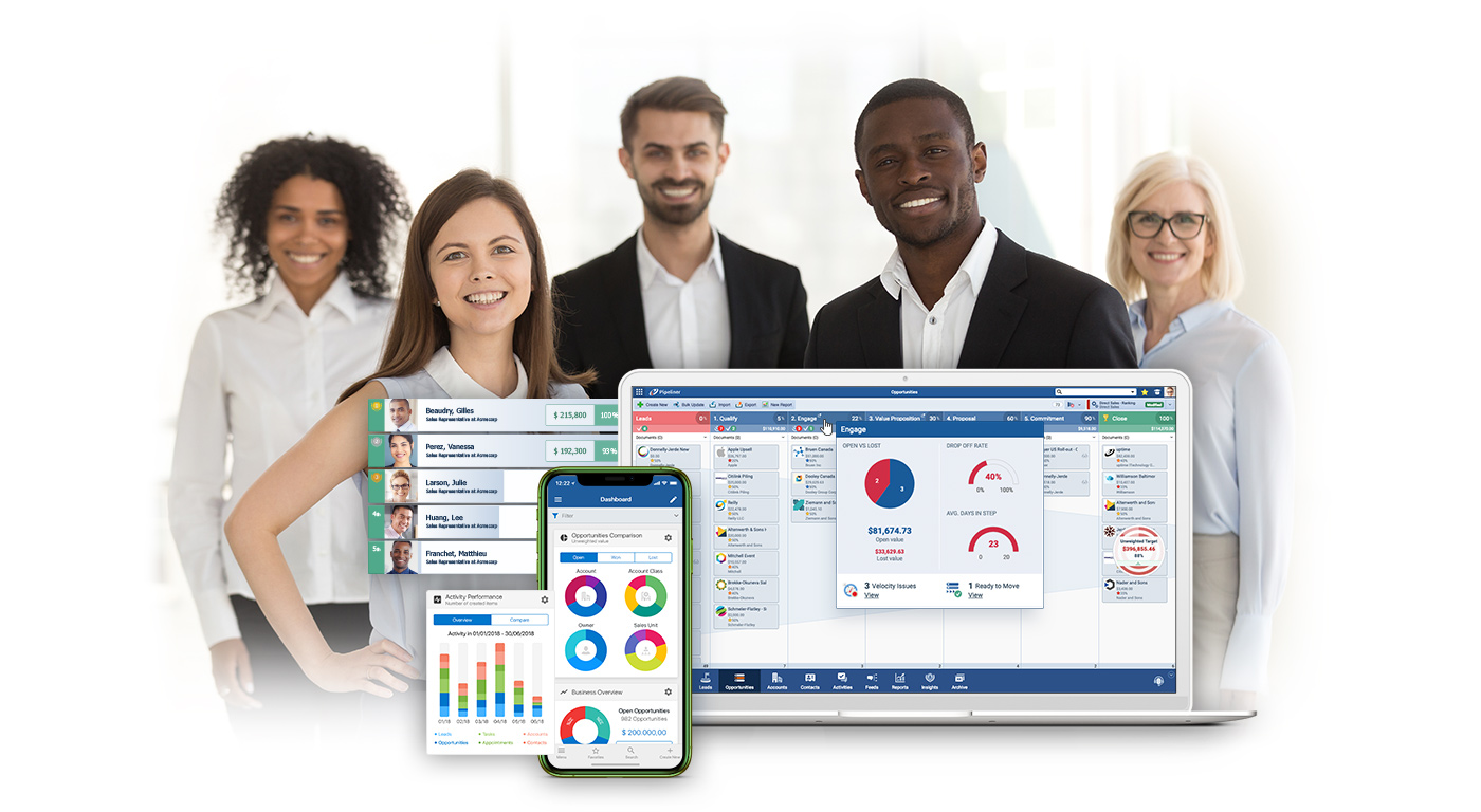 Pipeliner CRM four simple selling Partner types