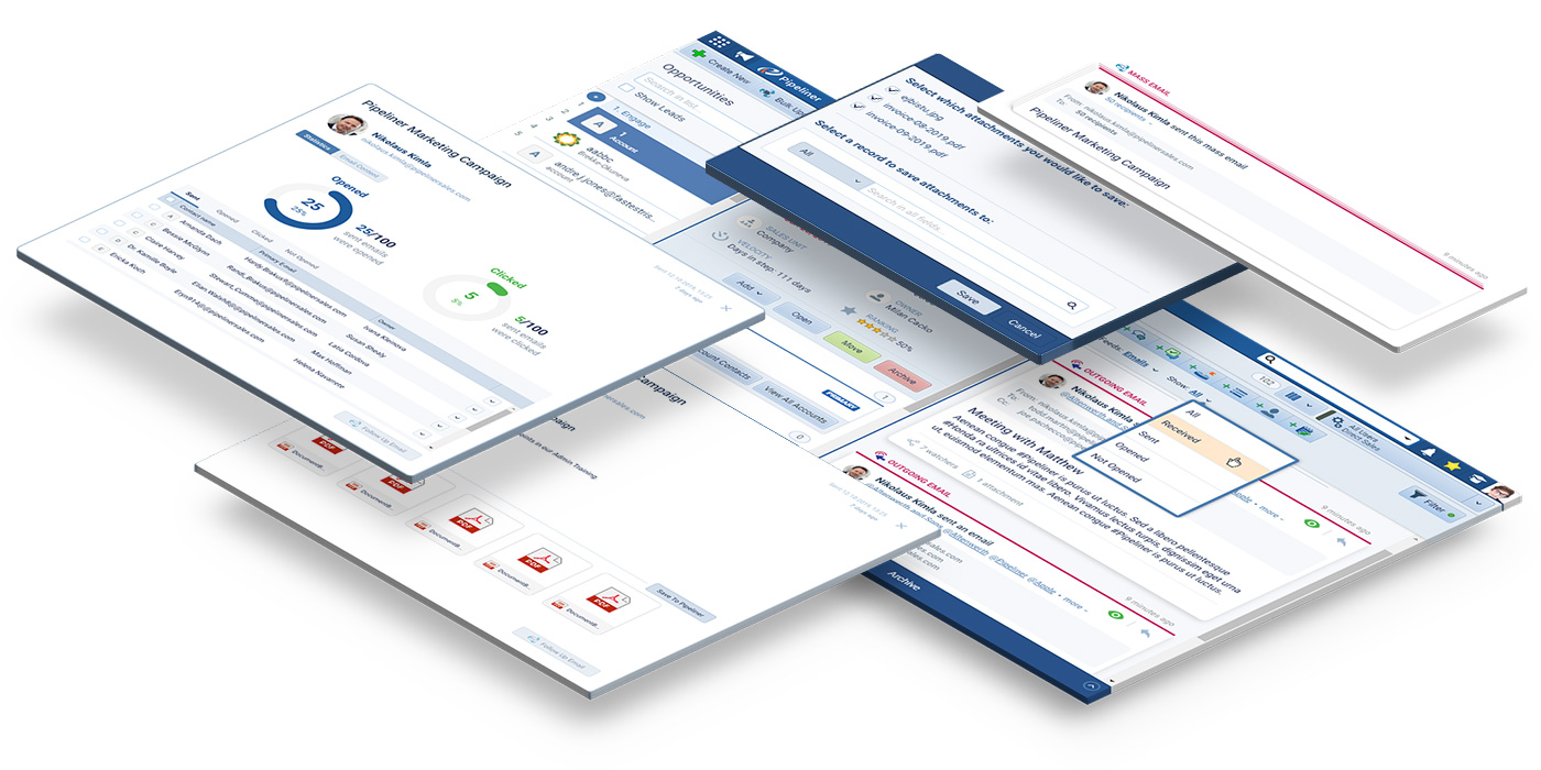 Email Automation in Pipeliner CRM