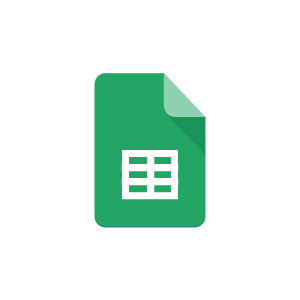 Google sheets with Pipeliner CRM
