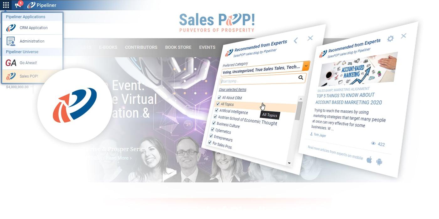 Pipeliner brings you sales education through Sales POP!