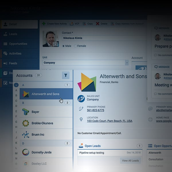 Sales CRM Contact Management - Pipeliner CRM