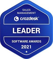 Crozdesk Sales Management software award